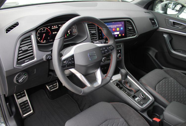 SEAT Ateca FR 1,5 TSI DSG7